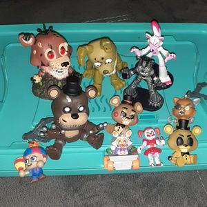 Five nights at Freddys collectible lot